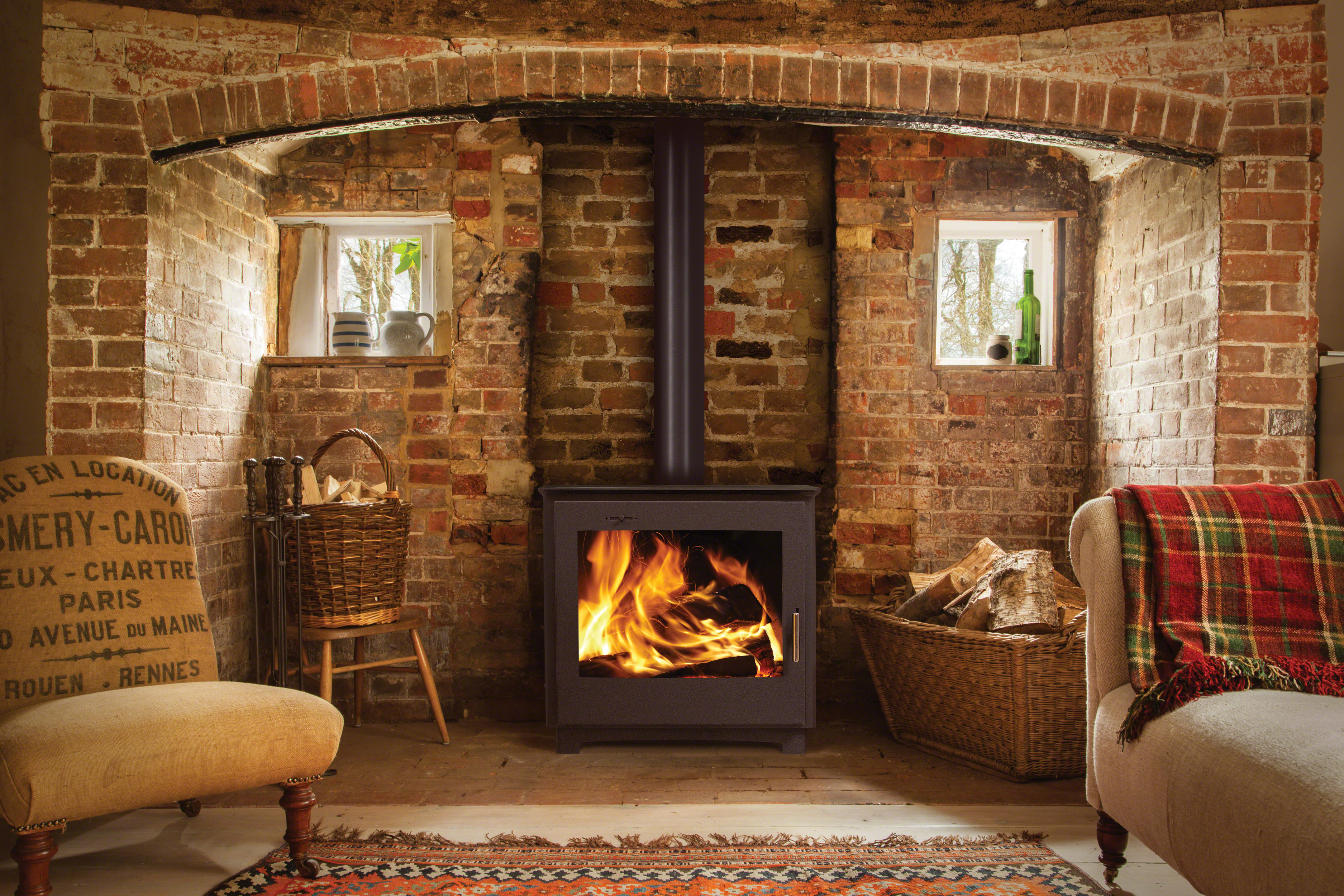 Fuel stoves electric fires hearths and surrounds for Ramsey fireplace